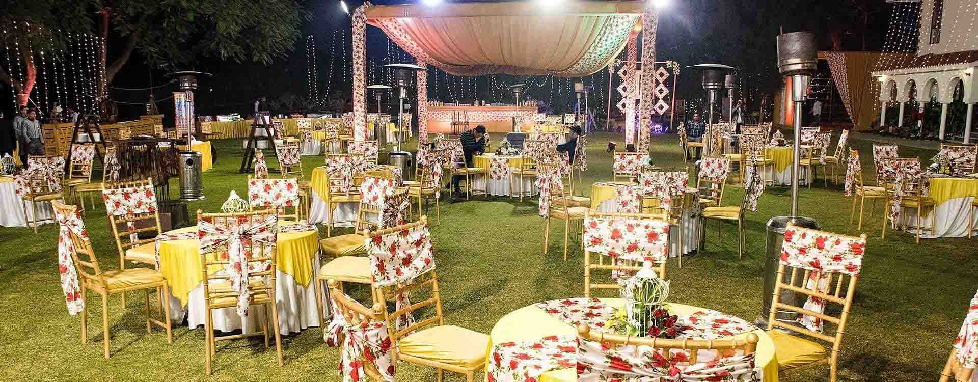 A guide to having a perfect Wedding Lawn in Gurgaon